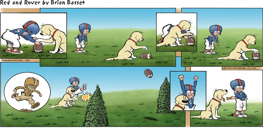 Red and Rover for Nov 25, 2012 Comic Strip