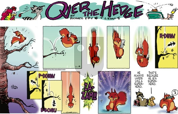 Over the Hedge on Sunday January 19, 2020 Comic Strip