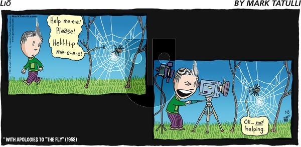 Lio - Sunday September 15, 2019 Comic Strip