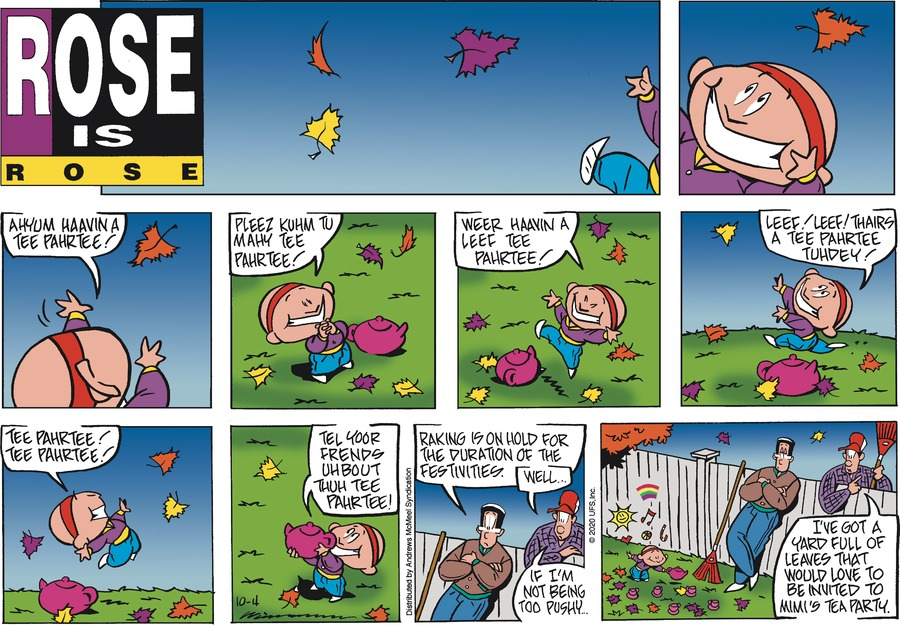 Rose is Rose Comic Strip for October 04, 2020