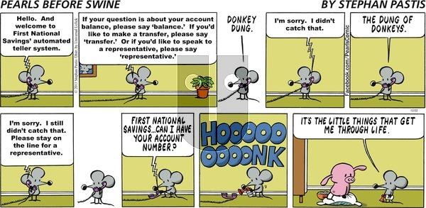 Pearls Before Swine on Sunday December 22, 2013 Comic Strip
