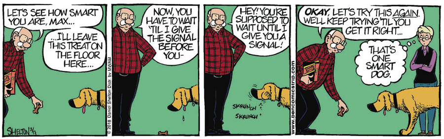 Ben for Feb 24, 2018 Comic Strip