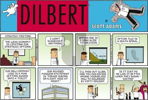 Dilbert on Sunday September 20, 2009 Comic Strip
