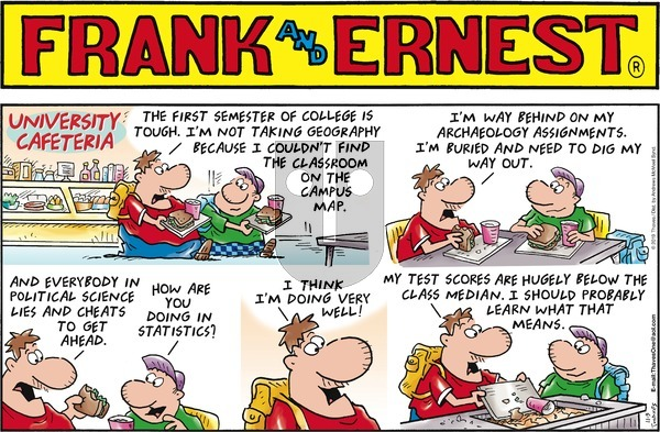 Frank and Ernest on Sunday November 3, 2019 Comic Strip