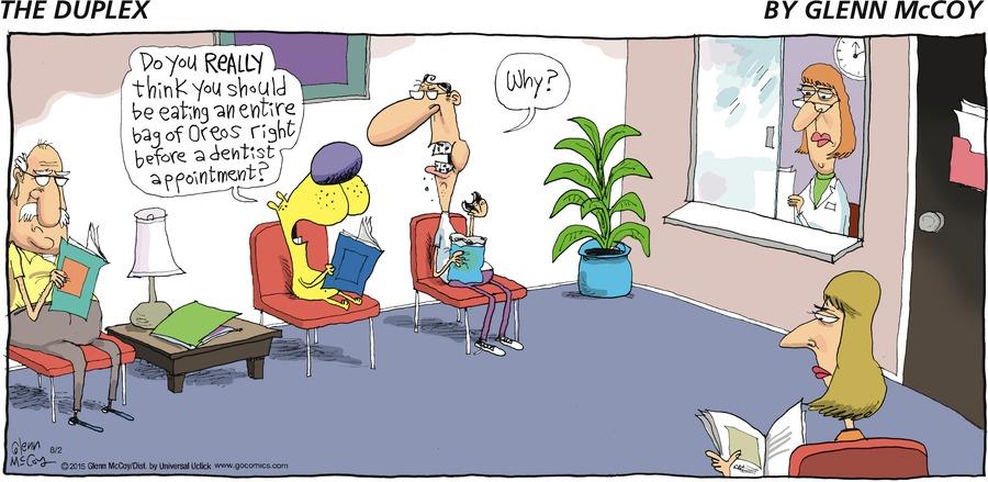 The Duplex for August 02, 2015 Comic Strip