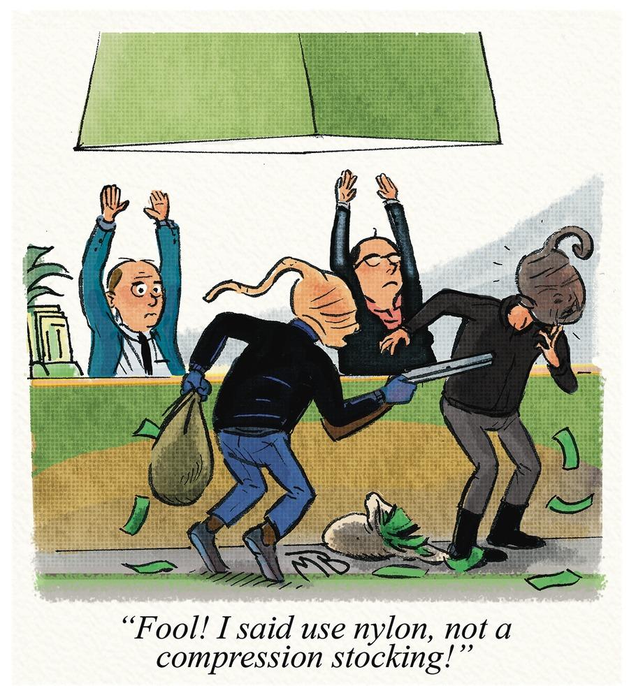 Mustard and Boloney for Nov 19, 2017 Comic Strip