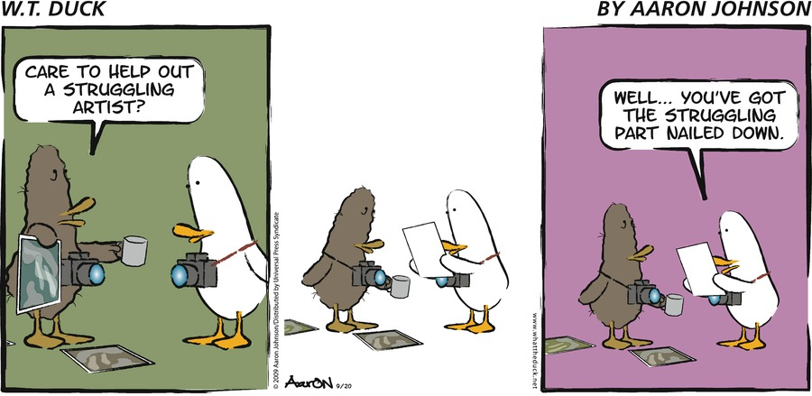 W.T. Duck for Jul 7, 2013 Comic Strip
