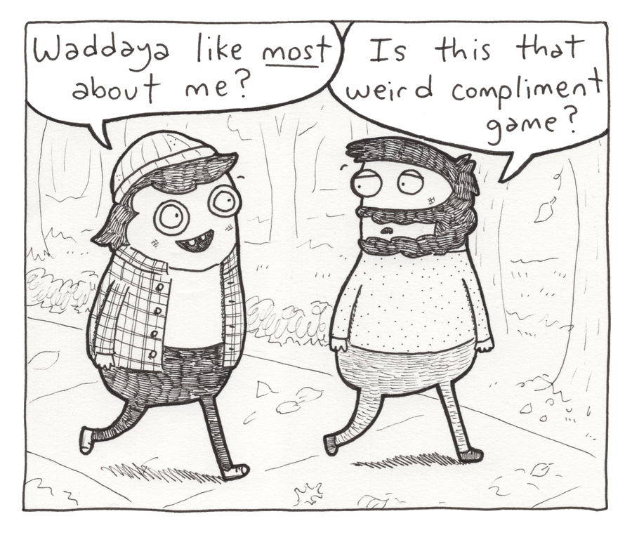 Underpants and Overbites Comic Strip for February 26, 2021
