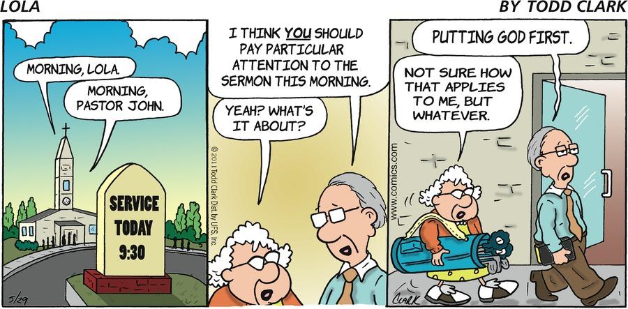 Lola for May 29, 2011 Comic Strip