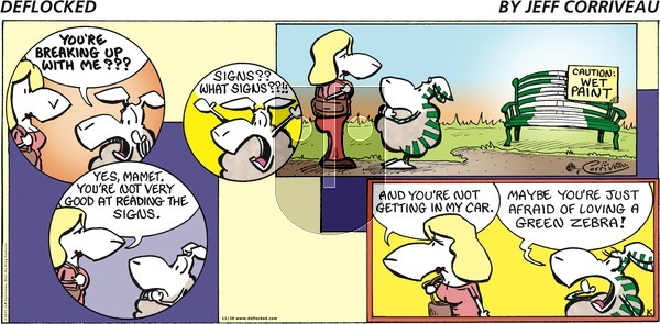 DeFlocked on Sunday November 26, 2017 Comic Strip