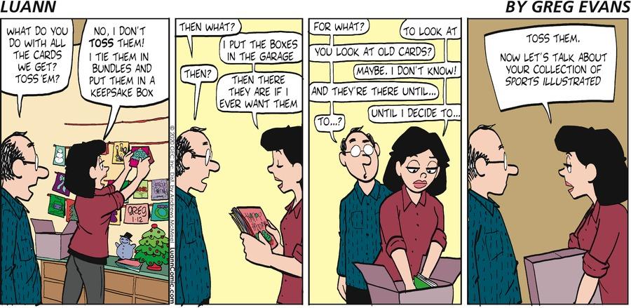 Luann Comic Strip for January 12, 2020