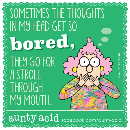 Aunty Acid Comic Strip for March 14, 2021