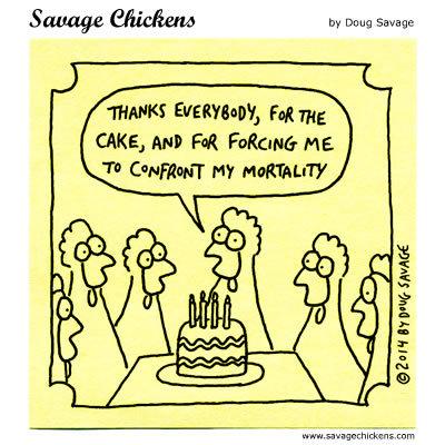 Savage Chickens for Jun 11, 2018 Comic Strip