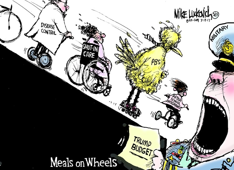 Mike Luckovich Comic Strip for March 19, 2017