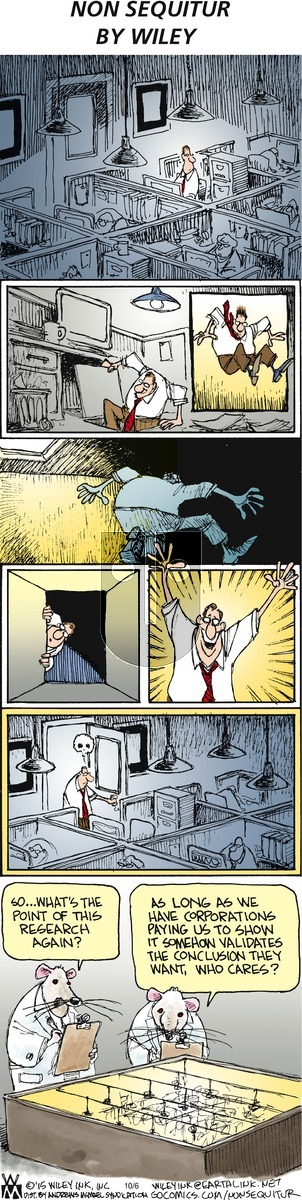 Non Sequitur on Sunday October 6, 2019 Comic Strip