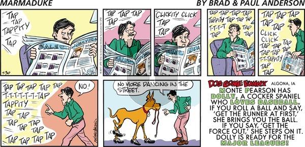 Marmaduke on Sunday July 30, 2017 Comic Strip