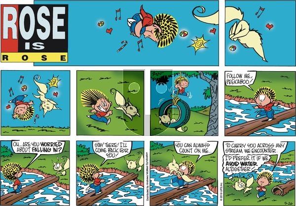 Rose is Rose on Sunday May 26, 2019 Comic Strip