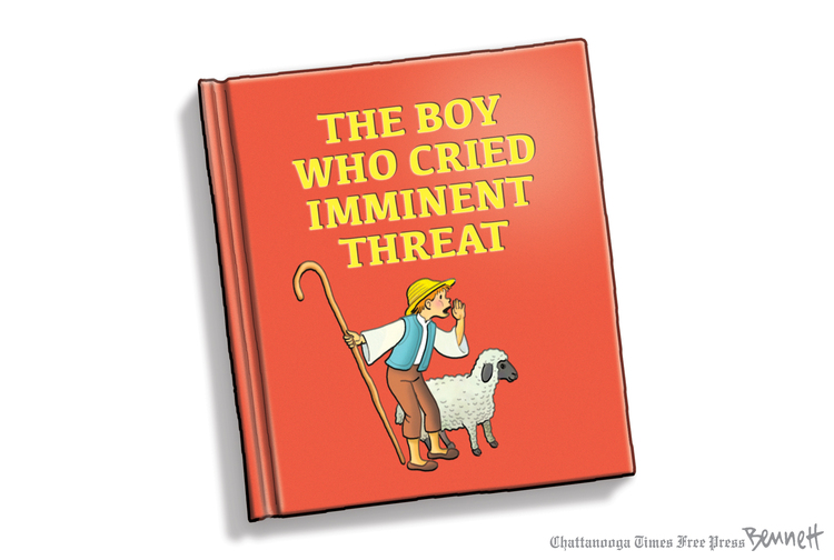 Clay Bennett Comic Strip for January 14, 2020