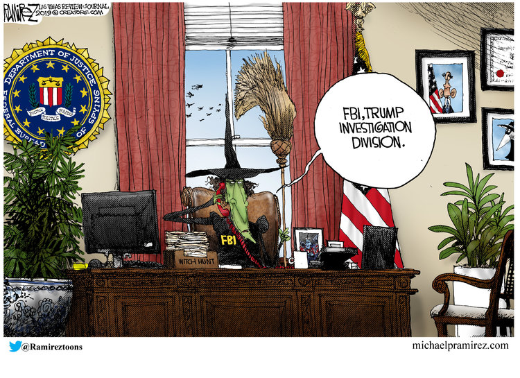 Michael Ramirez Comic Strip for April 12, 2019