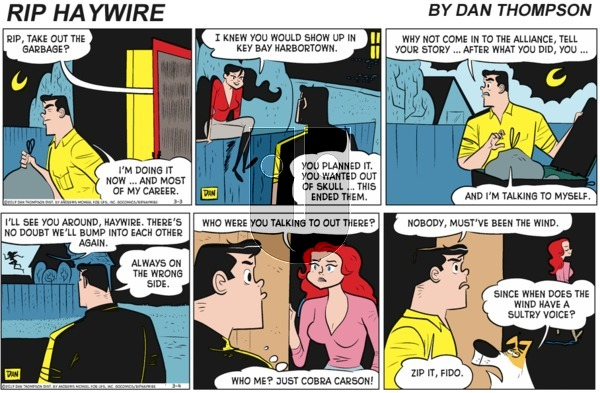 Rip Haywire on Sunday March 14, 2021 Comic Strip