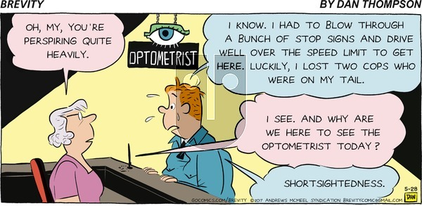Brevity on Sunday May 28, 2017 Comic Strip