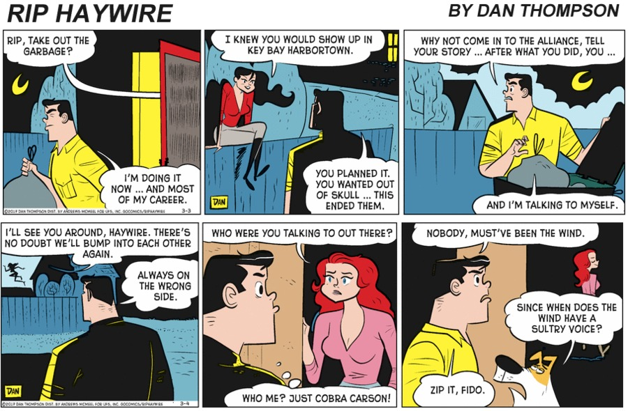 Rip Haywire Comic Strip for March 14, 2021