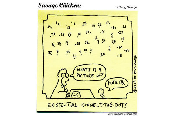 Existential connect-the-dots