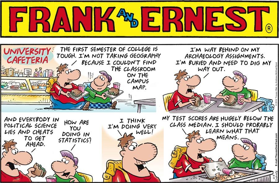 Frank and Ernest Comic Strip for November 03, 2019