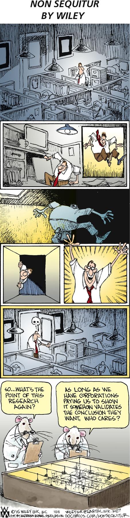 Non Sequitur Comic Strip for October 06, 2019