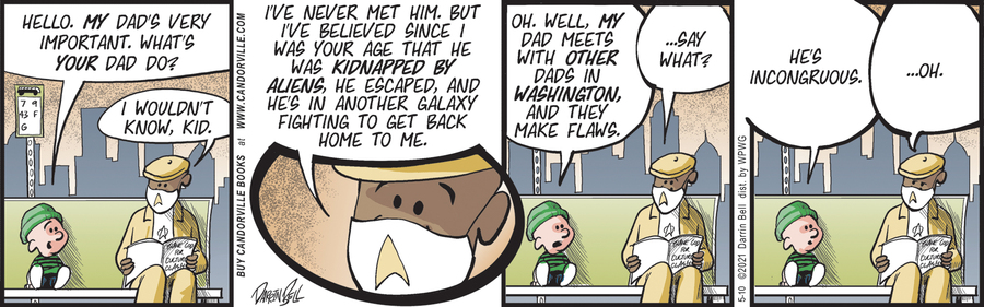 Candorville Comic Strip for May 10, 2021
