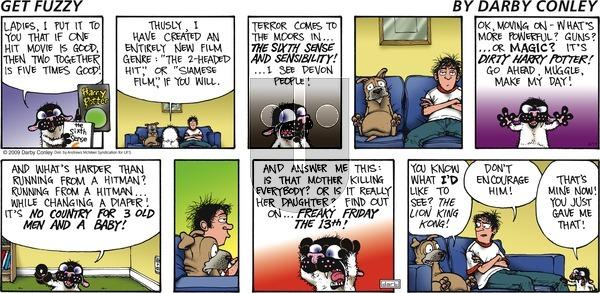 Get Fuzzy - Sunday April 11, 2021 Comic Strip