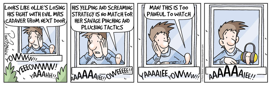 Ollie and Quentin Comic Strip for December 09, 2014