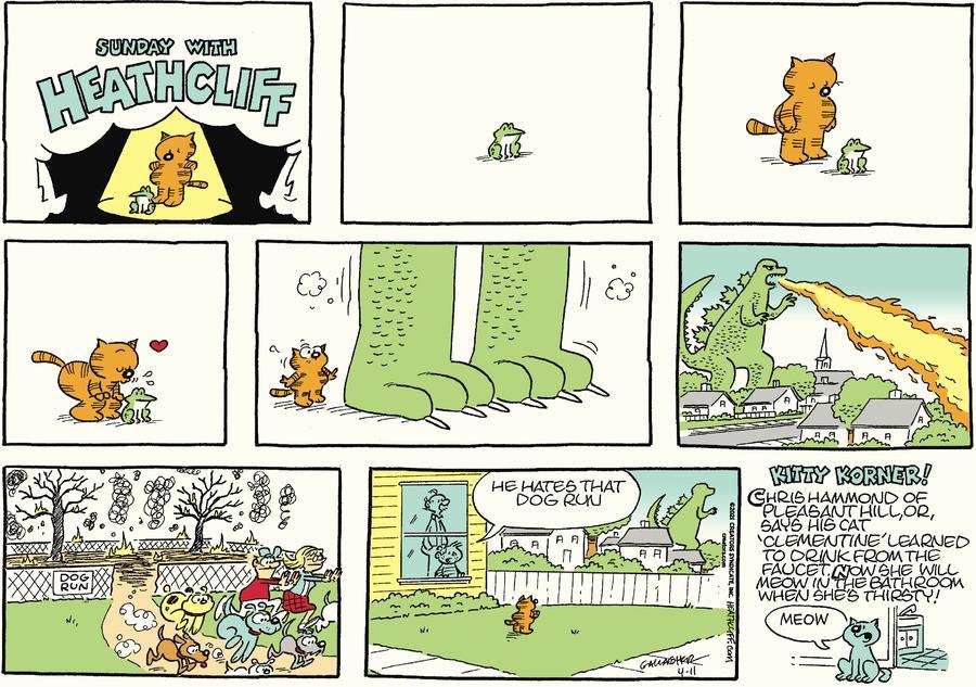 Heathcliff Comic Strip for April 11, 2021