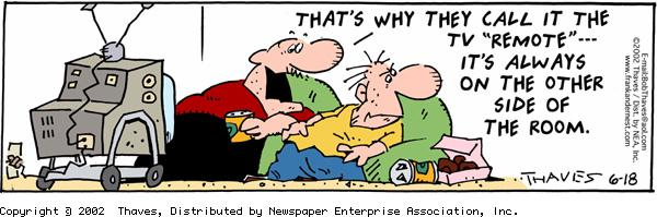 Frank and Ernest for Jun 18, 2002 Comic Strip