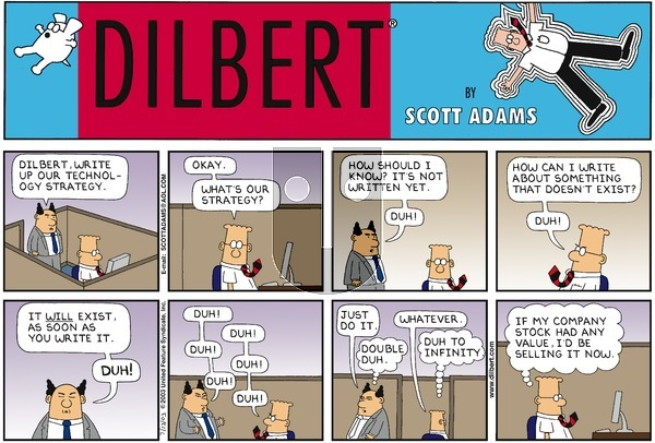 Dilbert - Sunday July 13, 2003 Comic Strip