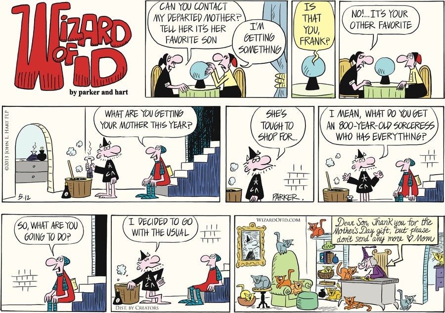Wizard of Id Comic Strip for May 12, 2013