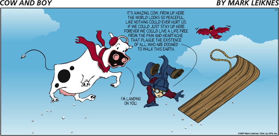 Cow and Boy Classics by Mark Leiknes on Mon, 22 Feb 2021