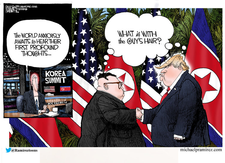 Michael Ramirez Comic Strip for June 12, 2018