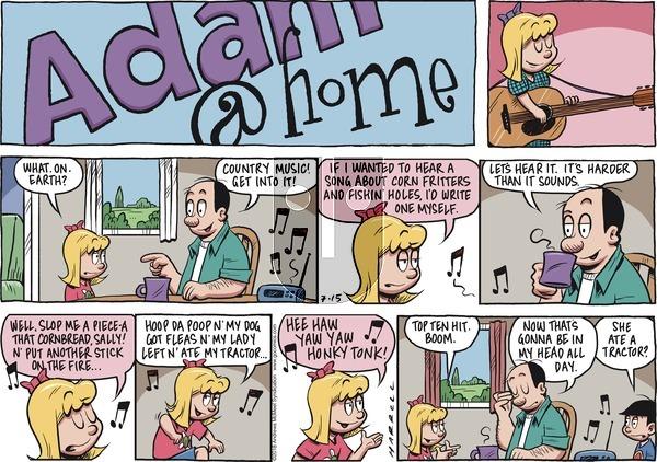 Adam@Home on Sunday July 15, 2018 Comic Strip