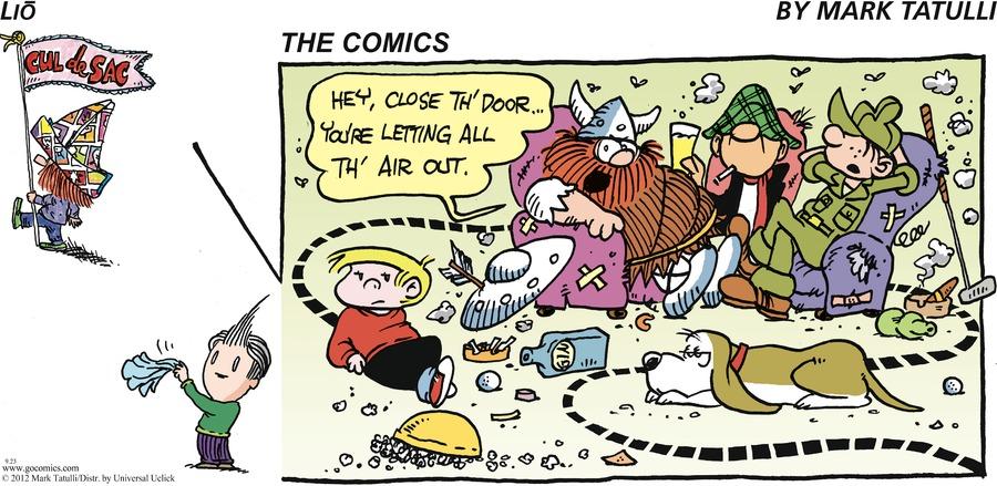 Lio Comic Strip for September 23, 2012