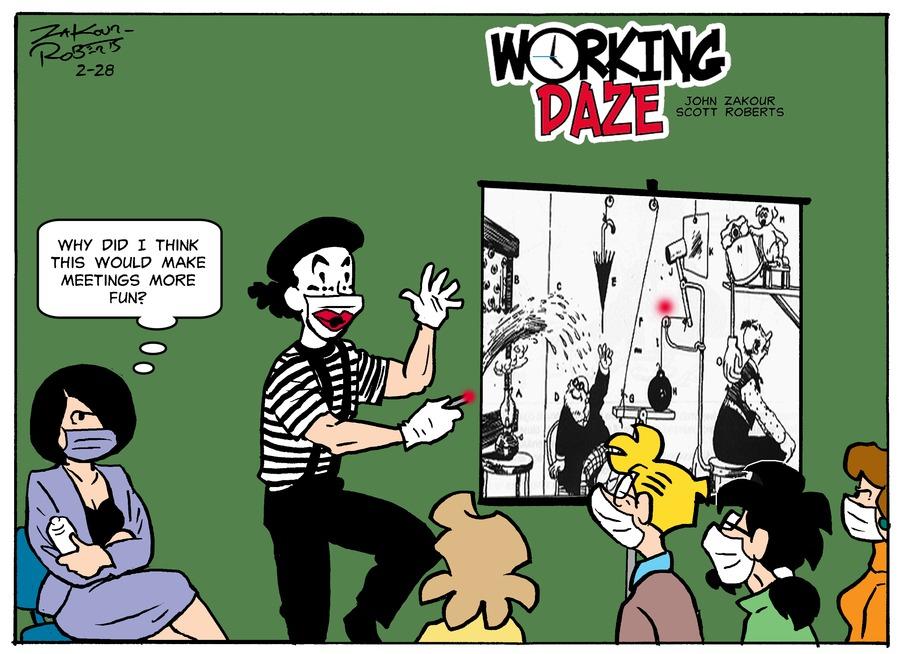 Working Daze Comic Strip for February 28, 2021