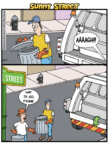 Sunny Street Comic Strip for August 25, 2014