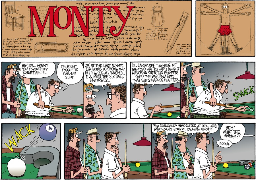 Monty for Jul 8, 2012 Comic Strip