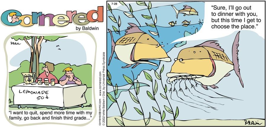 Cornered Comic Strip for July 28, 2002