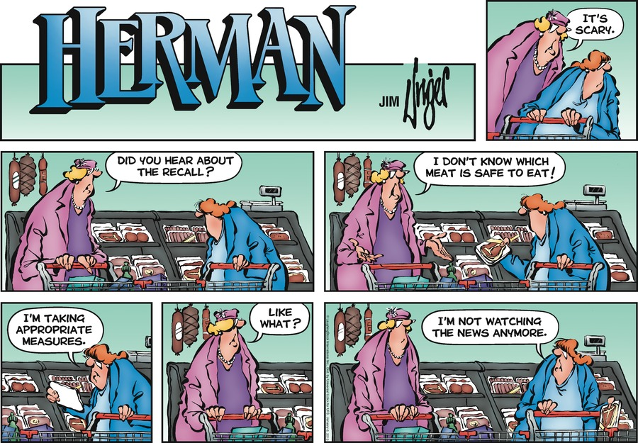 Herman Comic Strip for January 06, 2013