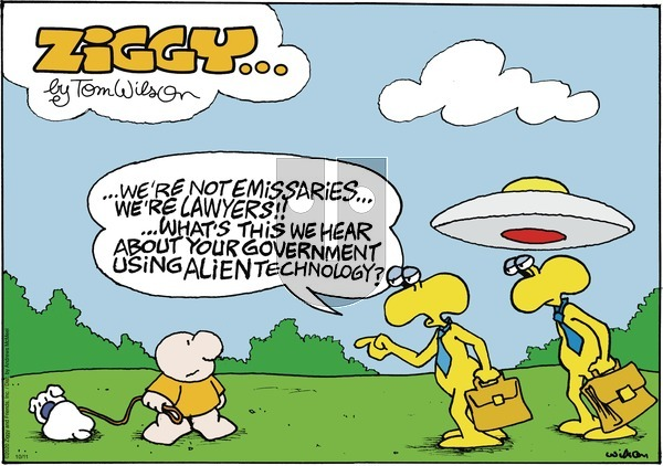 Ziggy on Sunday October 11, 2020 Comic Strip