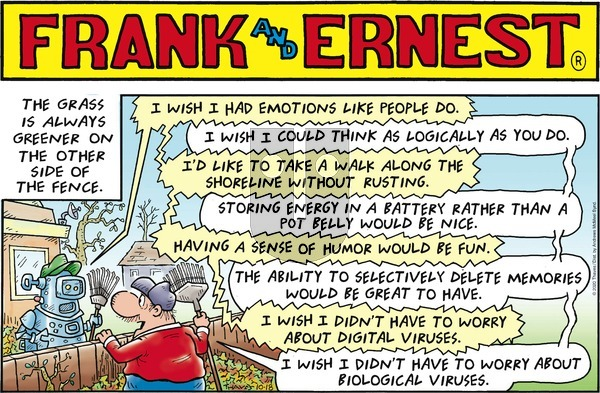 Frank and Ernest on Sunday October 18, 2020 Comic Strip