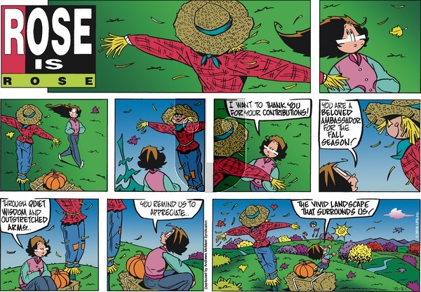 Rose is Rose - Sunday October 21, 2018 Comic Strip