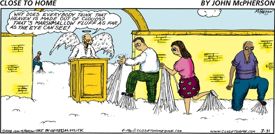 Close to Home for Mar 31, 2013 Comic Strip