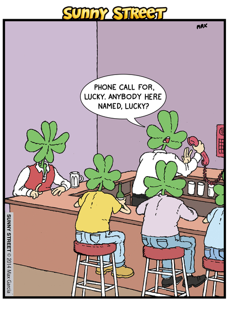 Sunny Street Comic Strip for March 17, 2014